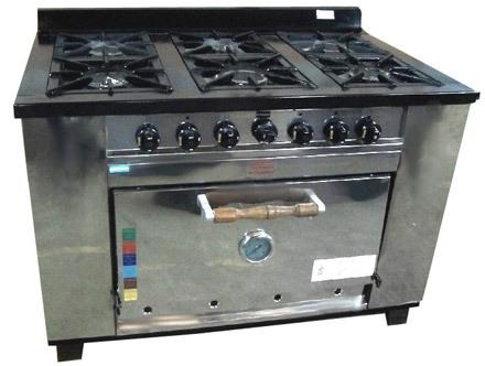 Cocina tecnocalor 6 hornallas mts linea industrial for Cocina 6 hornallas