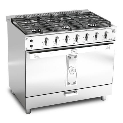 Cocina luxor gas gourmet 90 cm lvequipamiento for Cocina gas profesional