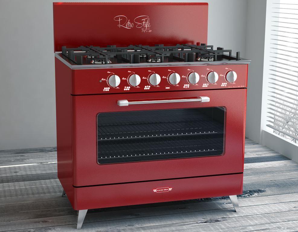 Cocina luxor gas retro style lvequipamiento lvequipamiento - Cocinas industriales a gas ...