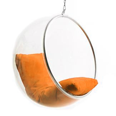 Sillón Bubble  (Naranja)