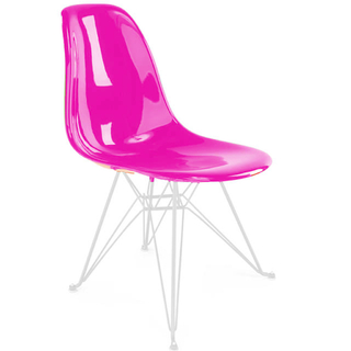 Silla DSR (Nacional- Brillante Color/Base Blanca)