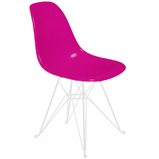 Silla DSR (Nacional- Mate Color/Base Blanca)