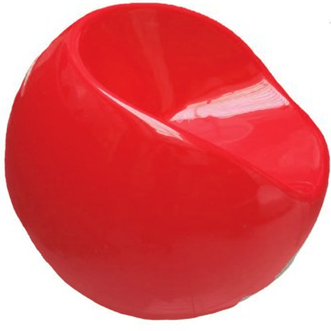 Sillón Fun Ball XL (Rojo)