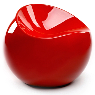 Sillón Fun Ball XS (Rojo)