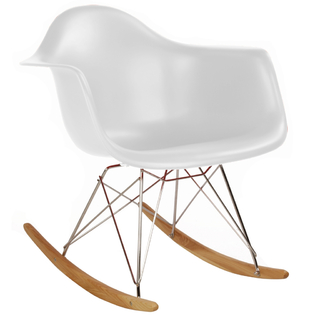 Sillón Mecedor RAR (Blanco)