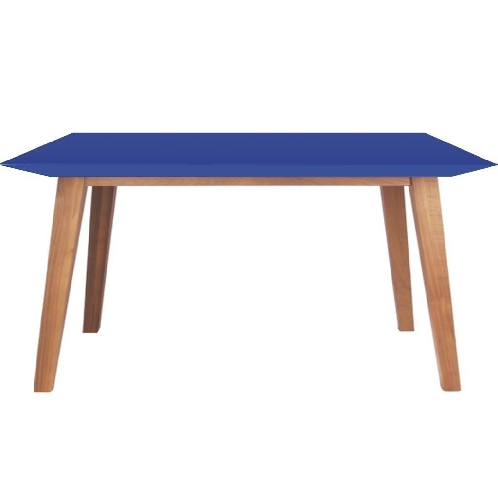 Mesa comedor madera kiev lustre natural laqueado - Mesas comedor madera natural ...