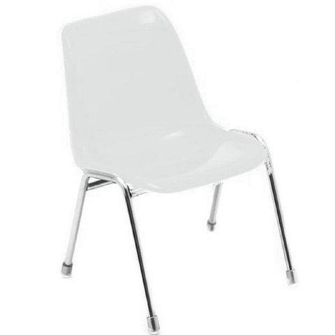 Mini Silla Robin Day (Blanco)