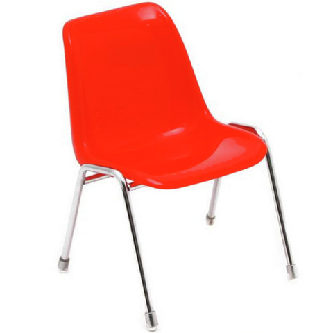 Mini Silla Robin Day (Rojo)