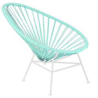 Sillita Mexicana Oval Kids (Asiento Color / Base Blanca)