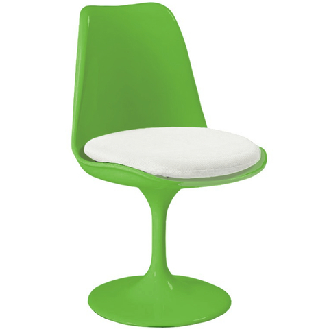 Silla Tulip (Colores High-Gloss / Verde Neon)
