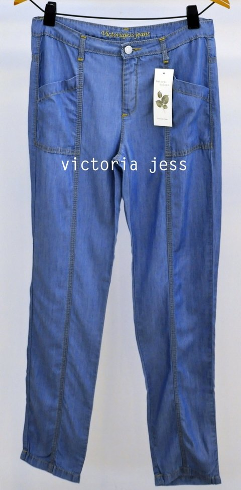 ART.252-PANTALON ANCHO JEAN TENCEL