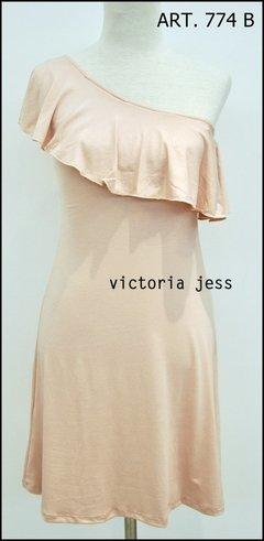VESTIDO VISCOSA SHOULDER