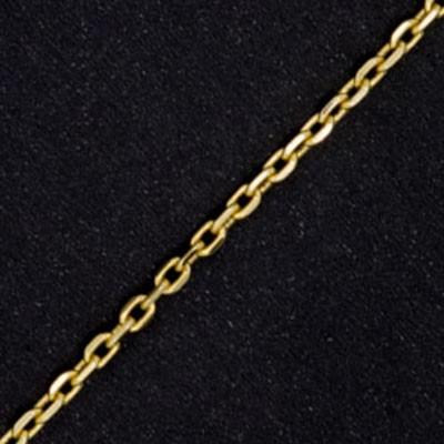 bbd8552ec8f Corrente Masculina Feminina Cartier Quadrada Grossa