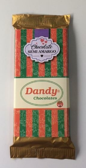 Chocolate Semiamargo - Dandy Chocolates