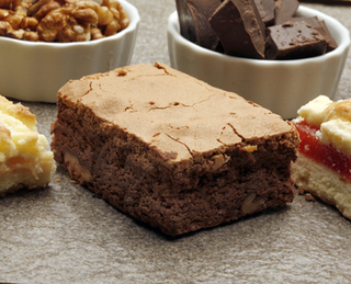 Brownie con Nueces - La Delfina