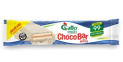 Choco bar de Arroz (Blanco) - Gallo - comprar online