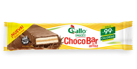 Choco bar de Arroz (Negro) - Gallo