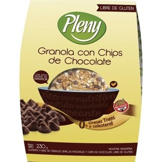 Granola c/Chips Chocolate - Plenny
