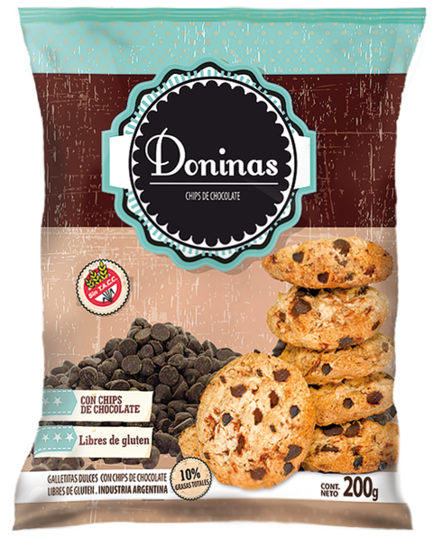 Chips de chocolate - Doninas