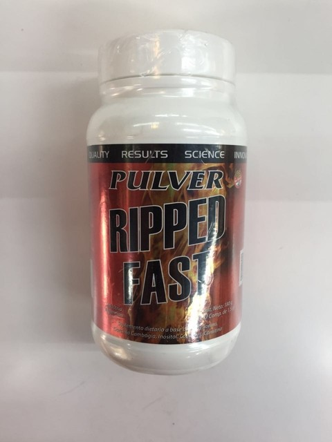 Ripped Fast 120 comprimidos - Pulver