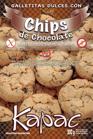 Chips de Chocolate - Kapac