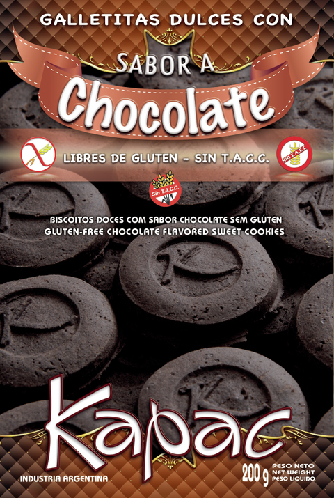Galletitas Dulces con Sabor a Chocolate - Kapac