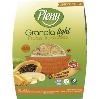 Granola Light Frutos Tropicales - Plenny  - comprar online