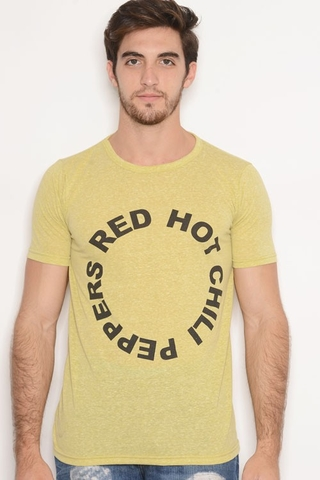 Remera Viscosa Estampa Red Hot Chill Peppers Lima