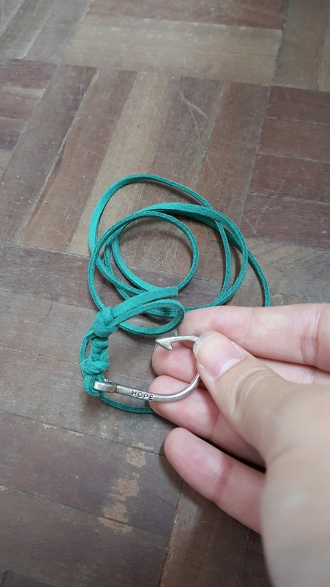 Pulseira Carp Hook hope Esmeralda