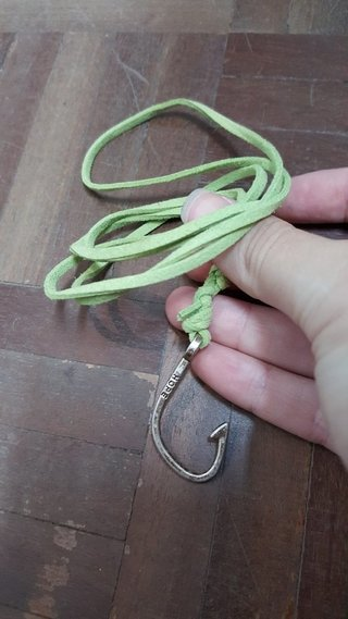 Pulseira Carp Hook hope verde na internet