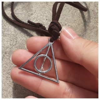 Colar Harry Potter _ Relíquias da Morte - comprar online