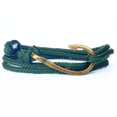 Pulseira Anzol Vibe Vintage Rope Verde