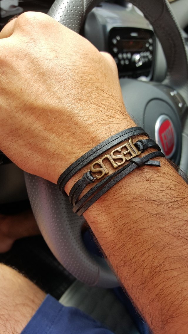 Pulseira Jesus Preto Morte do Ego  na internet