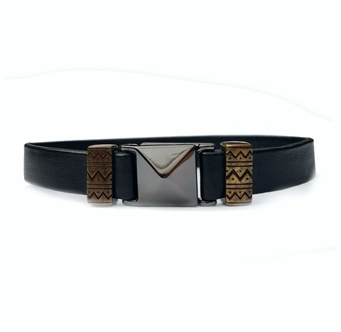 Pulseira Masculina tribal total black