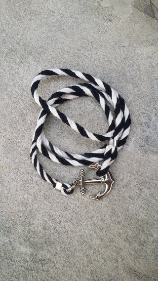 Pulseira Twister Cord IN-IANG Ancora - loja online