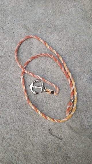 Pulseira Twister Cord Sunset Ancora na internet