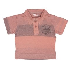 Camiseta polo listrada - 4everkids