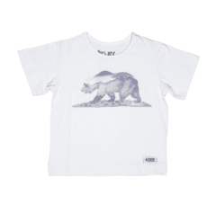 Camiseta Sublimada Urso Califórnia