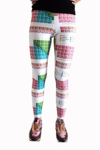 Tabla Periódica Leggings