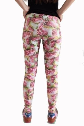 Amanita Muscaria Leggings - Eat me!