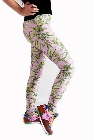 Cannabis Sativa Marihuana Leggings