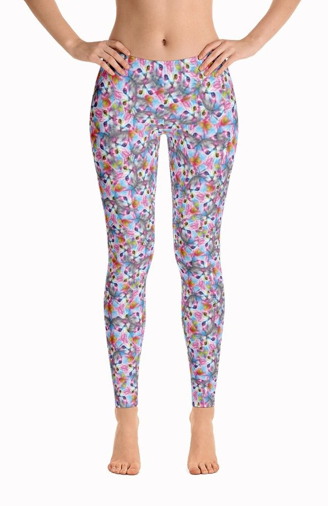 Gatos Cymk Leggings