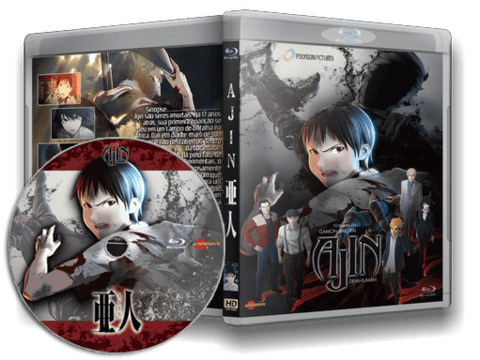 Ajin Blu-ray Cover