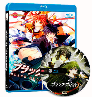 Black Bullet dvd cover