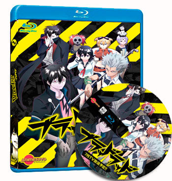 anime Blood Lad dvd cover