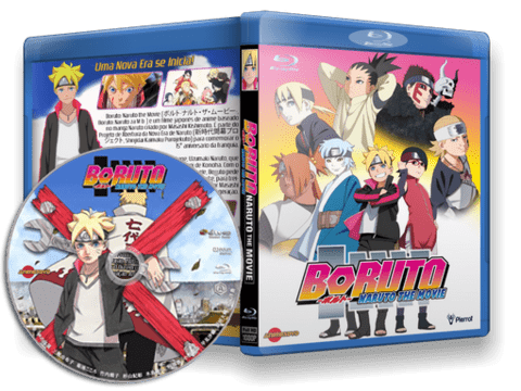 Boruto: Naruto the Movie Blu-ray cover