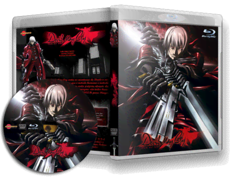 Devil May Cry Blu Ray Cover