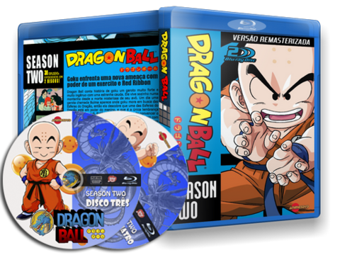 Dragon Ball Blu-ray Capa