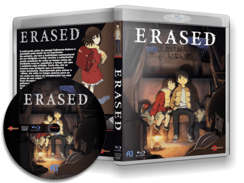 Erased Blu-ray Cover Capa