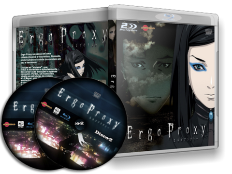 Ergo Proxy Blu Ray Cover